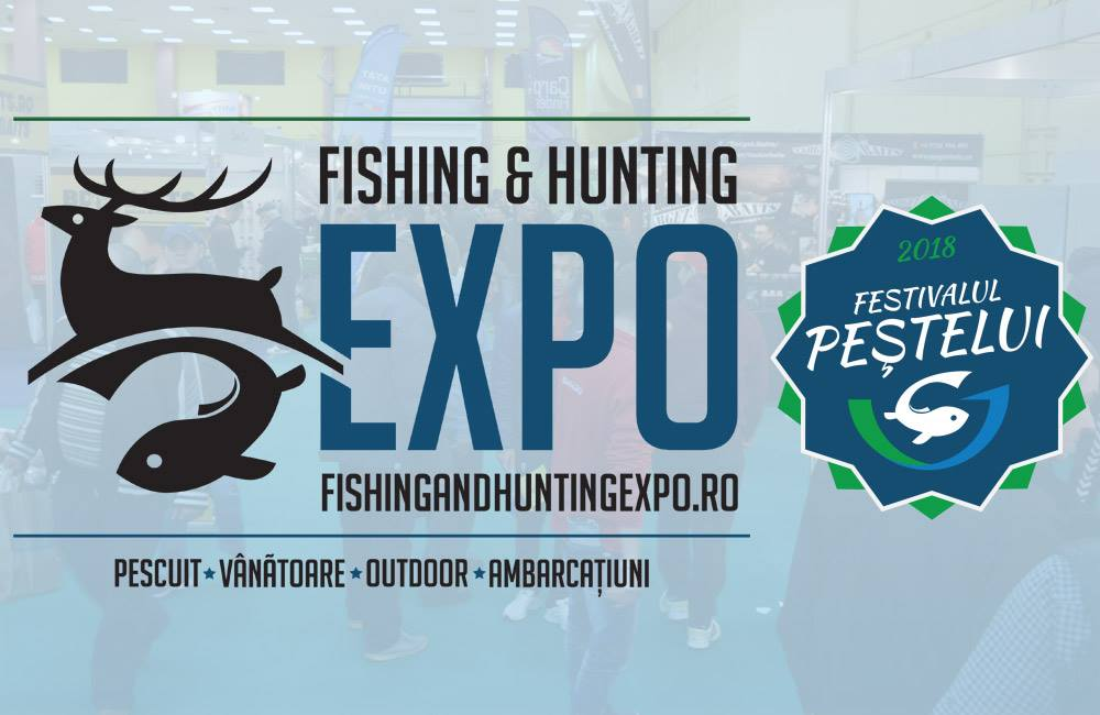 Cea mai mare expozitie de pescuit organizata vreodata in for Hunting and fishing expo