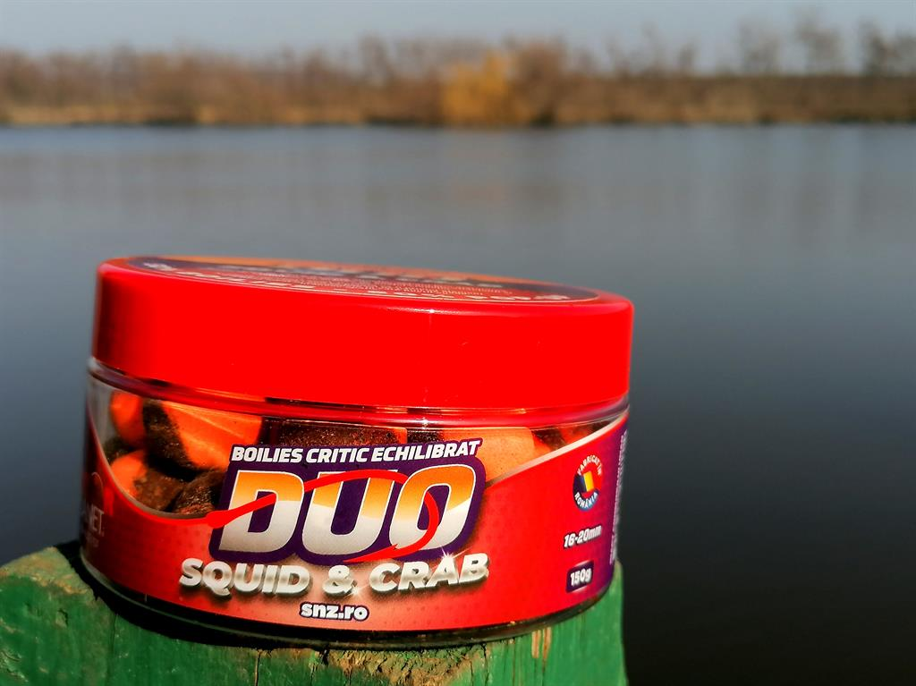 boilies carlig duo squid crab